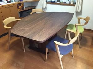 FR変型テーブル